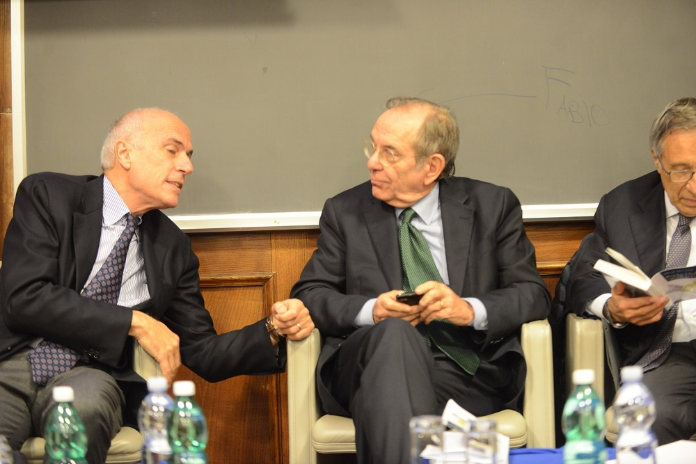 Alfredo Macchiati e Pier Carlo Padoan
