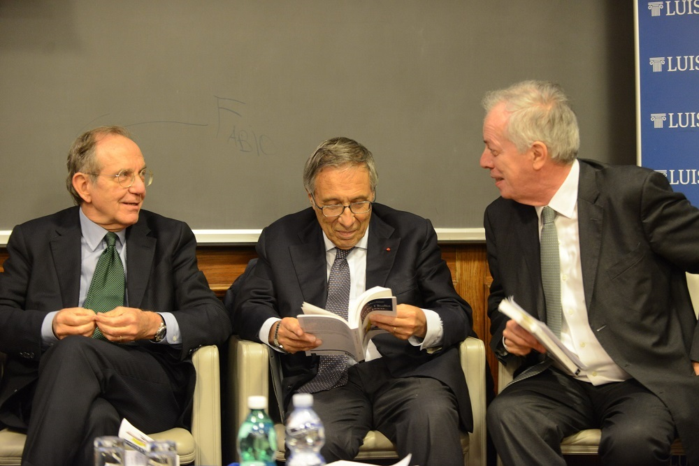 Pier Carlo Padoan, Franco Bassanini e Marcello Messori