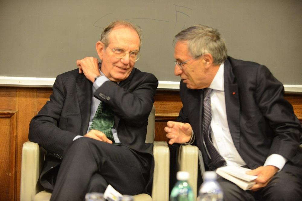 Pier Carlo Padoan e Franco Bassanini