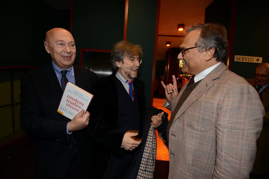 Ernesto Galli della Loggia, Giuliano Ferrara Ugo Berti