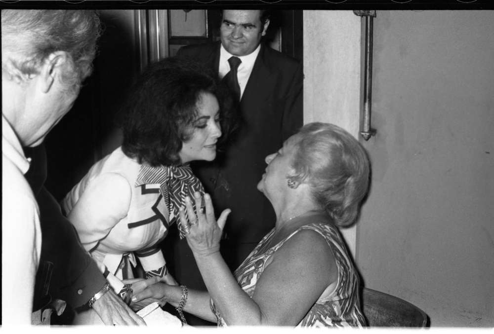 Laurence Harvey, Liz Taylor, Mimmo Cavicchia e Lidia Brazzi