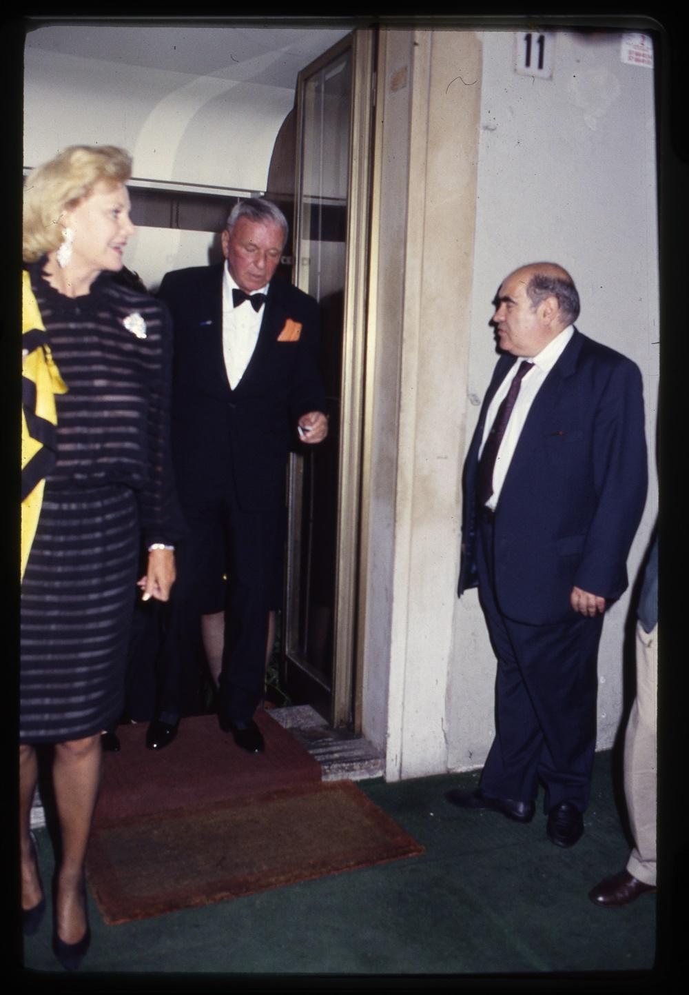 Frank Sinatra e Mimmo Cavicchia