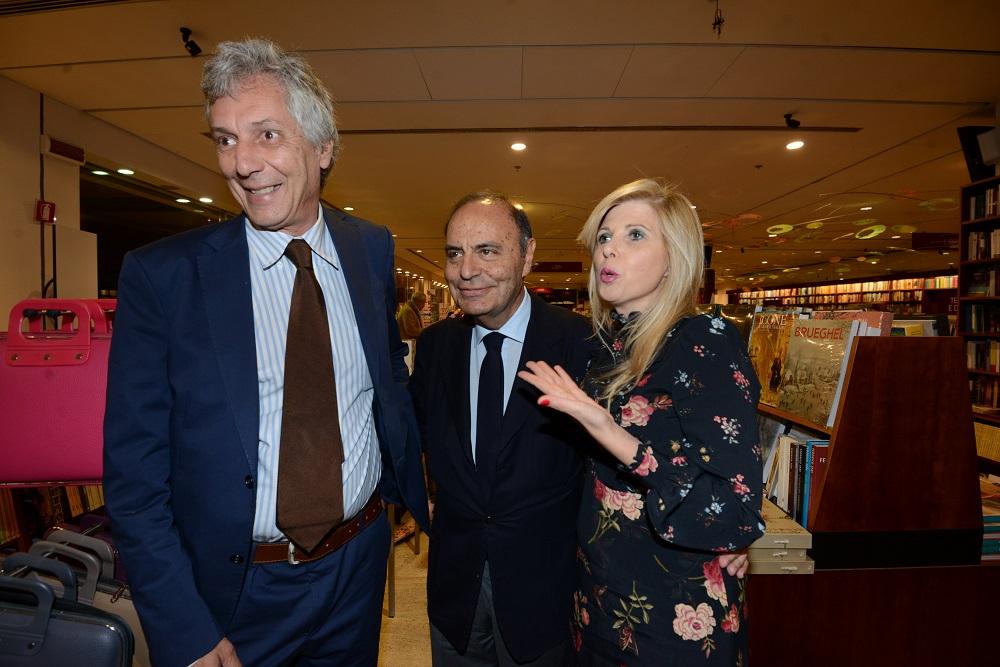 Fulco Ruffo di Calabria, Bruno Vespa e Concita Borrelli