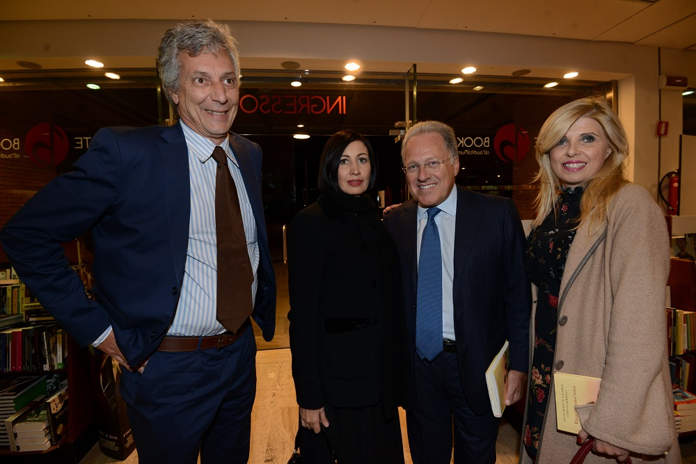 Fulco Ruffo di Calabria, Candida Morvillo, Marcello Sorgi e Concita Borrelli