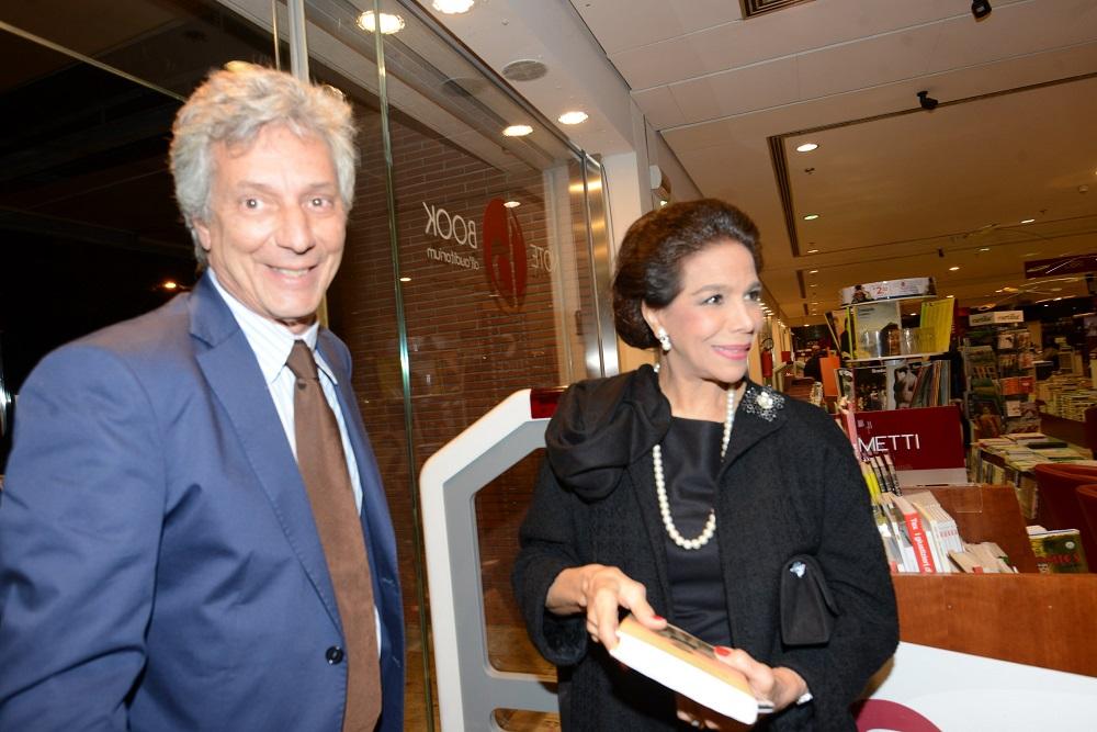 Fulco Ruffo di Calabria e Marisela Federici