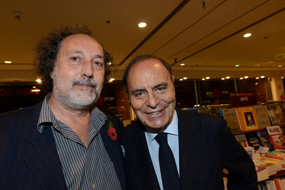 Fulvio Abbate e Bruno Vespa