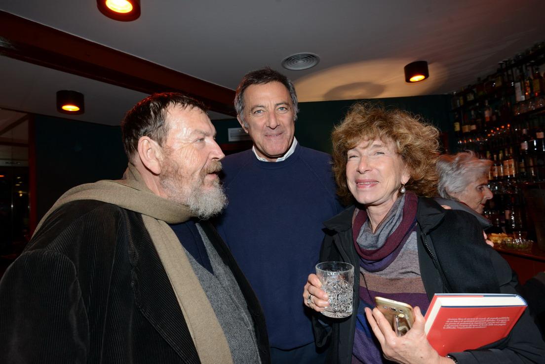 Galli della Loggia Giuliano Ferrara, Luca Barbareschi, Fiamma Nirenstein