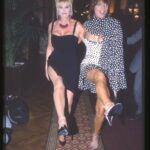Ivana Trump ed Elsa Martinelli