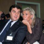 Giorgio Fossa con la moglie Laura de Micheli (1999)
