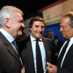 Cesare Trevisani, Giorgio Fossa, Luigi Abete (2010)
