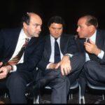 Pier Luigi Bersani, Giorgio Fossa, Silvio Berlusconi (1998)