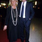 Giorgio Fossa con la moglie Laura de Micheli (1998)