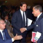 Cesare Romiti, Giorgio Fossa, Antonio D'Amato (2002)
