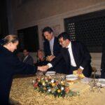 Édouard Michelin, Francesco Rutelli, Romano Prodi, Giorgio Fossa (1998)