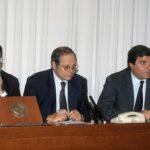 Romano Prodi, Tiziano Treu, Giorgio Fossa (1998)