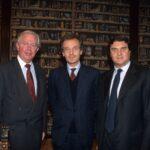 Jacques Santer, Paolo Alberto Lamberti, Giorgio Fossa (1998)