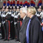 Roberta Pinotti e Sergio Mattarella