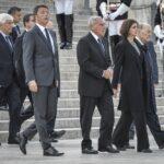 Matteo Renzi, Pietro Grasso, Laura Boldrini e Paolo Grossi