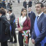 Virginia Raggi e Fabio Fucci