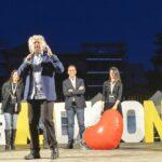 Beppe Grillo, Paola Taverna, Luigi Di Maio e Virginia Raggi
