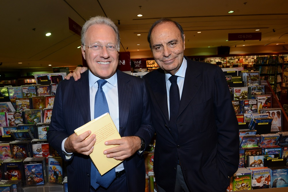 Marcello Sorgi e Bruno Vespa