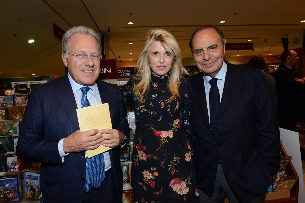 Marcello Sorgi, Concita Borrelli e Bruno Vespa