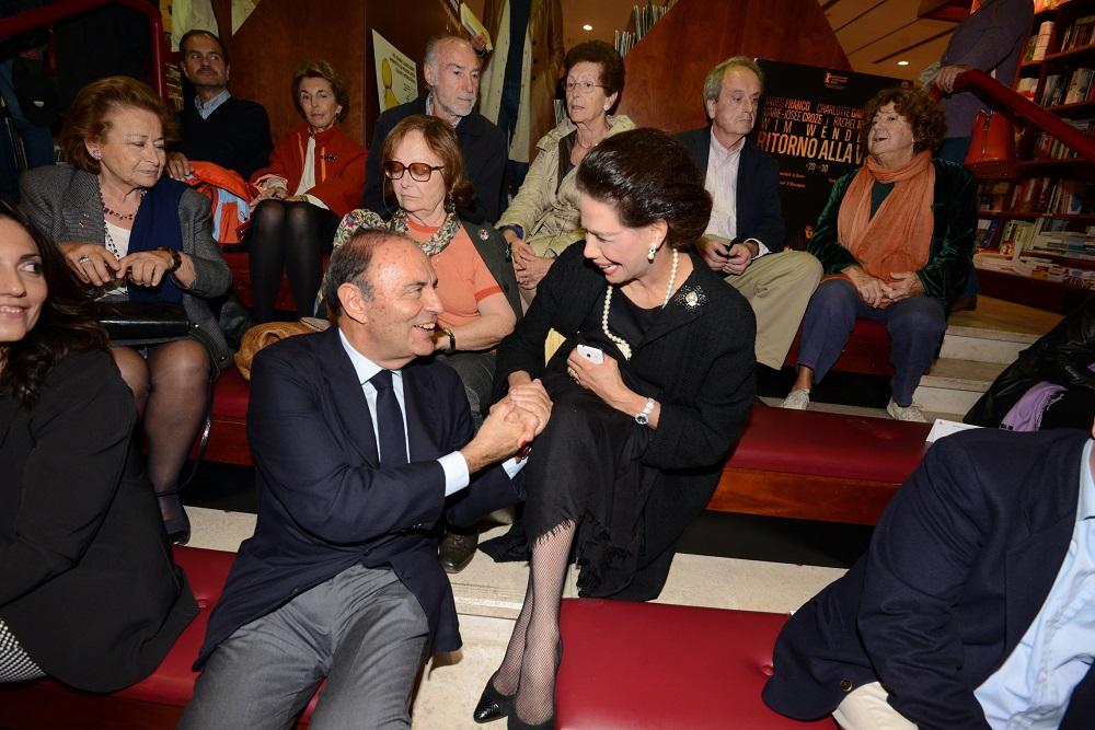 Marisela Federici e Bruno Vespa