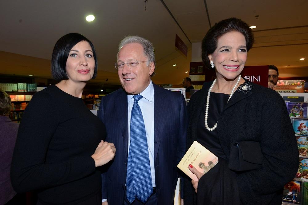 Candida Morvillo, Marcello Sorgi e Marisela Federici
