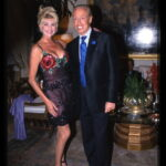 Renato Balestra e Ivana Trump