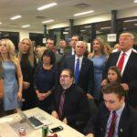 Ivanka Trump in attesa dei risultati - Profilo Facebook