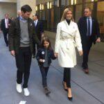 Ivanka Trump con il marito Jared Kushner e uno dei figli  - Profilo Facebook