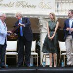 Ivanka Trump con il padre Donald Trump - Profilo Facebook