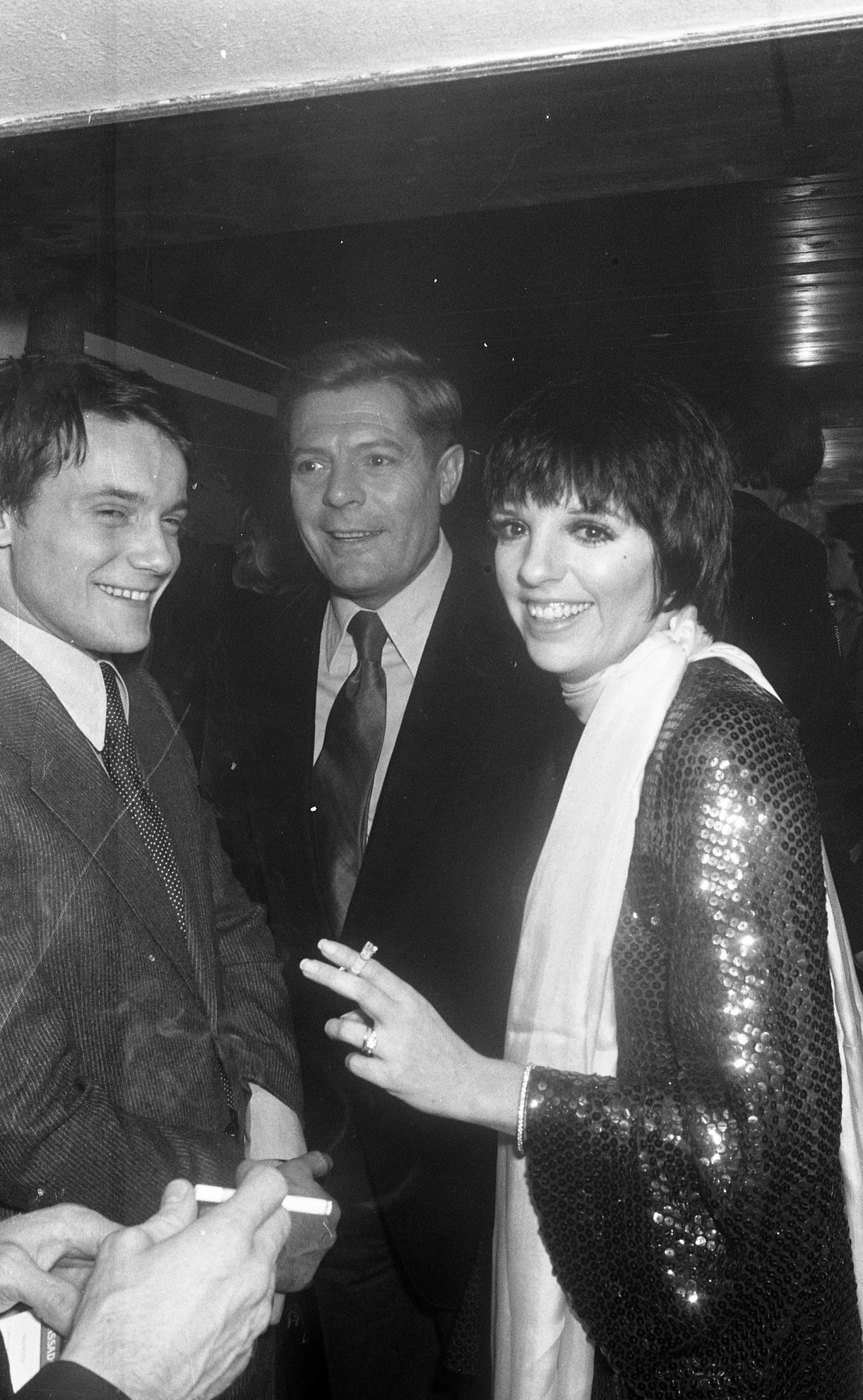Massimo Ranieri, Marcello Mastroianni, Liza Minnelli (1976)