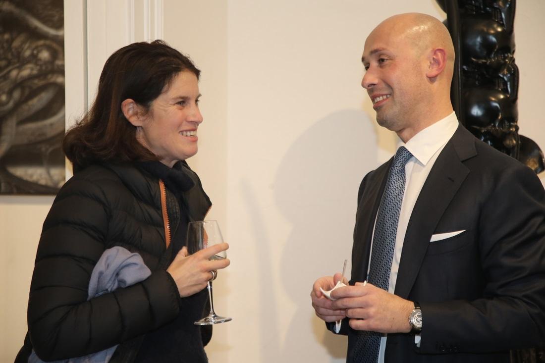 Claudio Proietti e Alessia Antinori