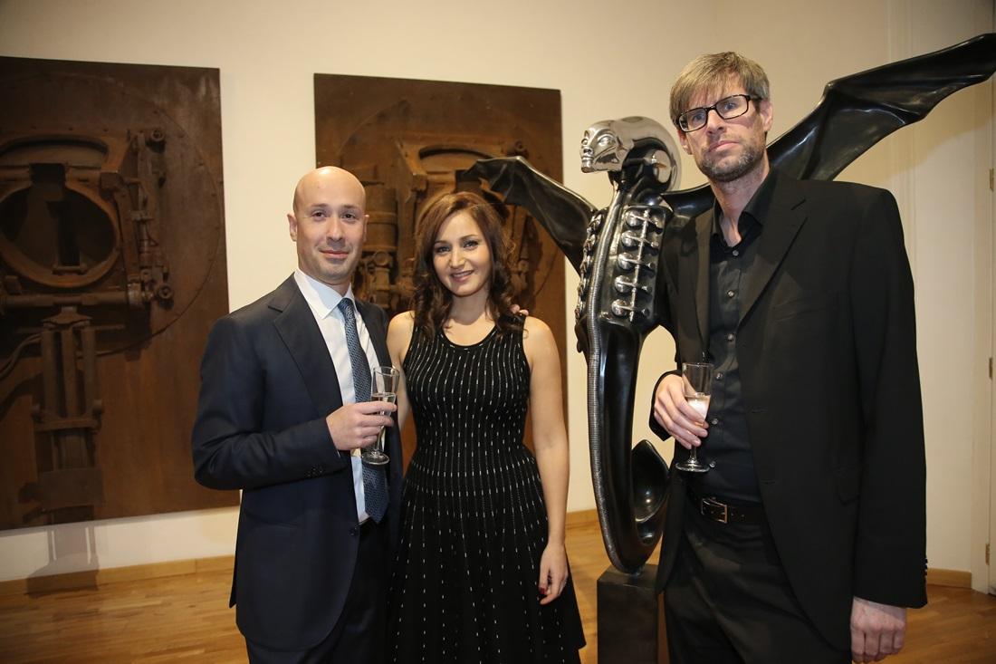 Claudio, Anna Proietti e Marco Witzig