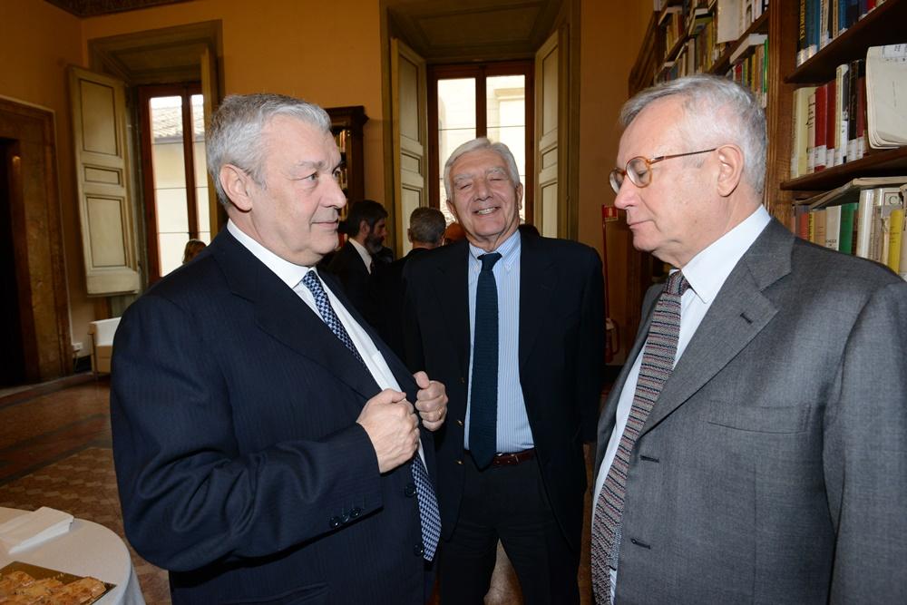 Domenico Saniscalco, Gianni De Gennaro e Giulio Tremonti