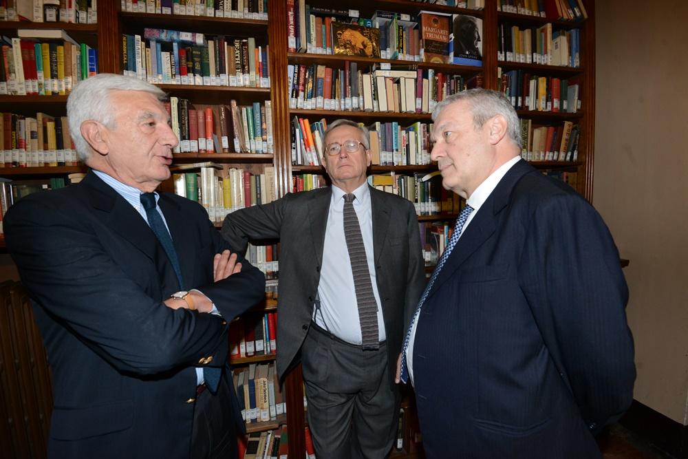 Gianni De Gennaro, Giulio Tremonti e Domenico Siniscalco