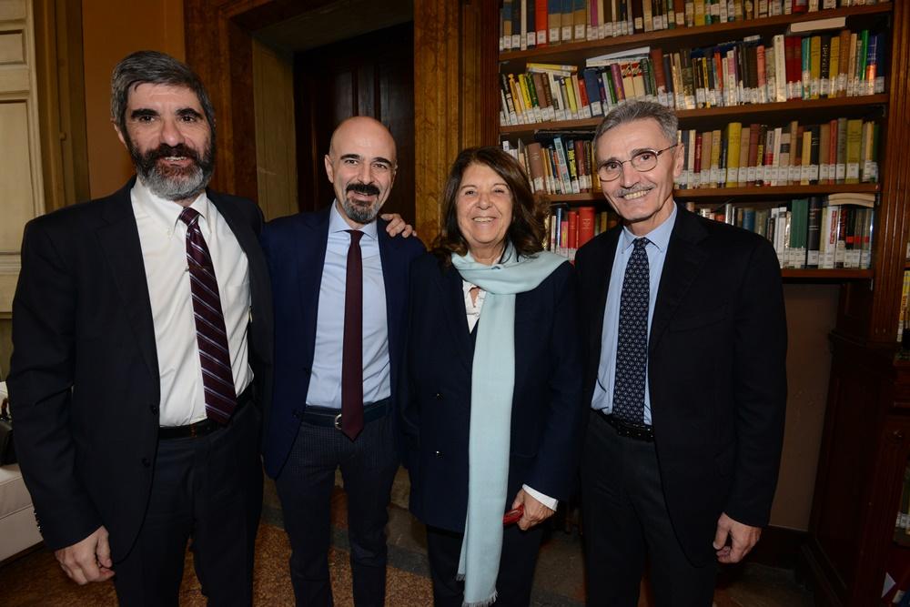Gianni Riotta, Gianni Lo Storto, Paolo Severino e Sergio Fabbrini