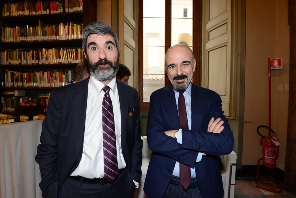 Gianni Riotta e Gianni Lo Storto