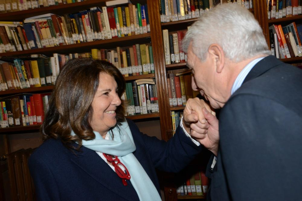 Paola Severino e Gianni De Gennaro