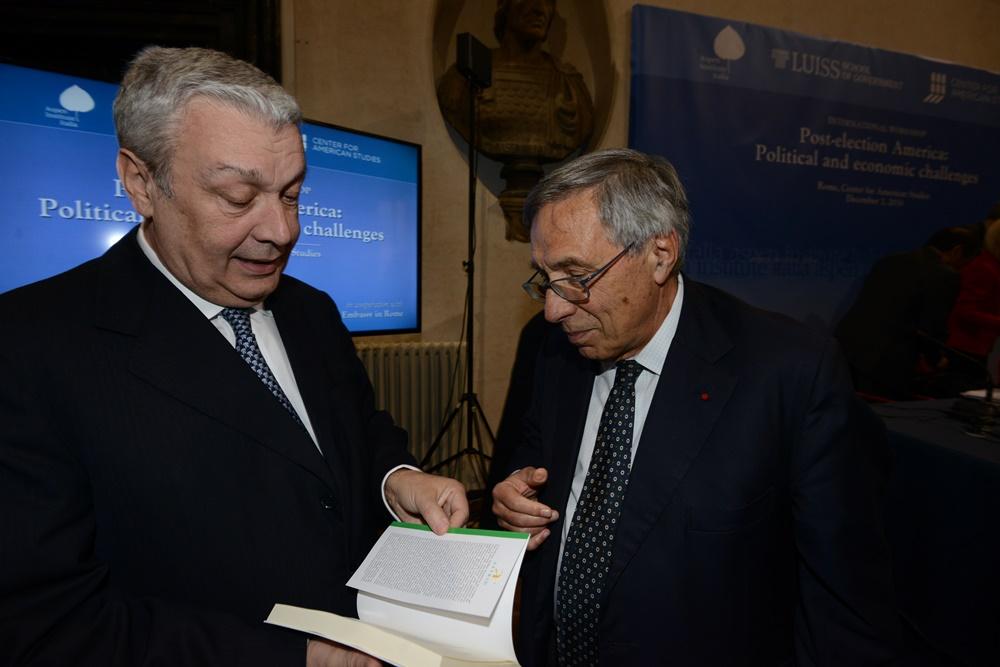 Domenico Siniscalco e Franco Bassanini