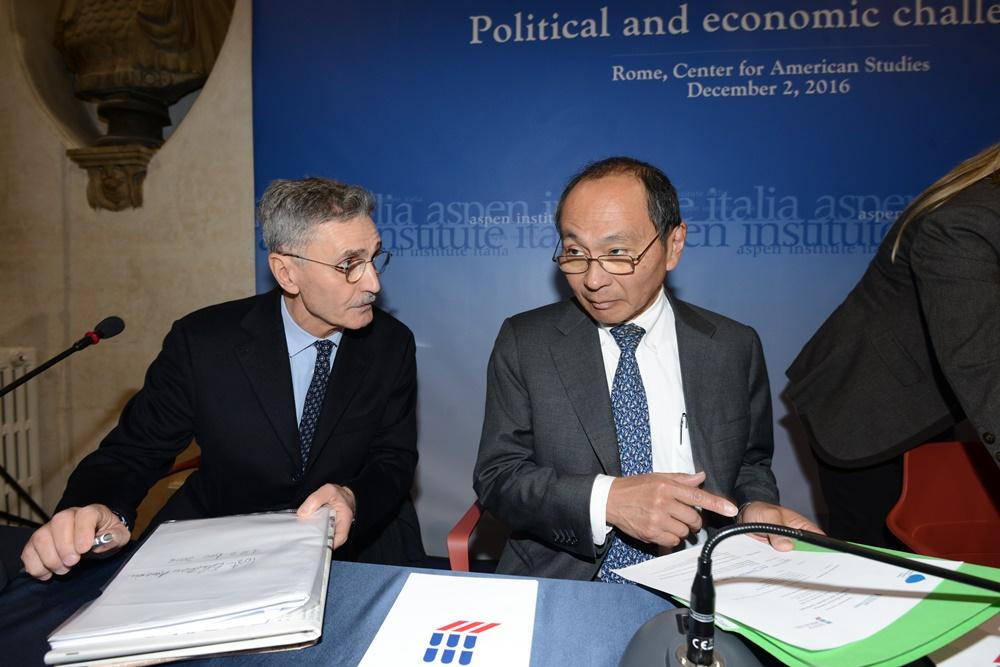 Sergio Fabbrini e Francis Fukuyama