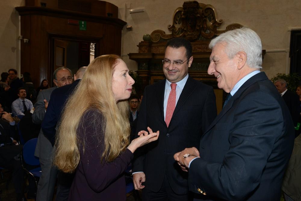 Kelly Degnan, Paolo Messa e Gianni De Gennaro