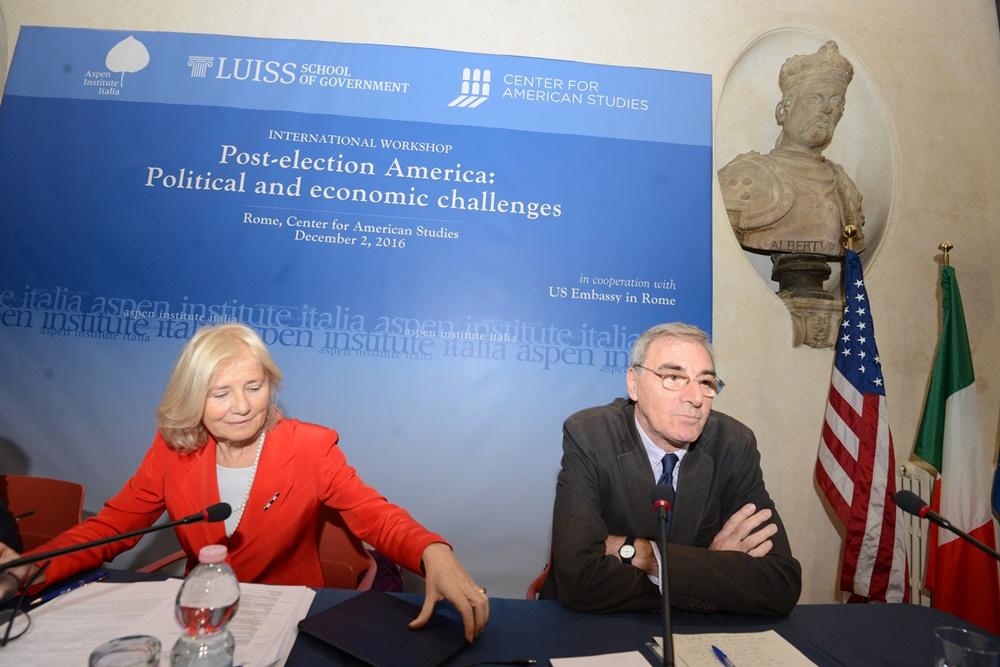 Marta Dassù e Federico Romero