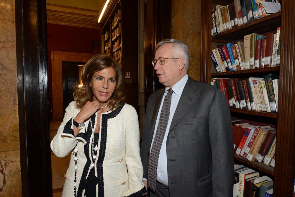 Emma Marcegaglia e Giulio Tremonti