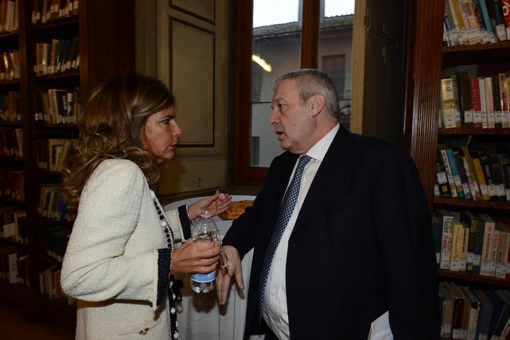 Emma Marcegaglia e Domenico Siniscalco