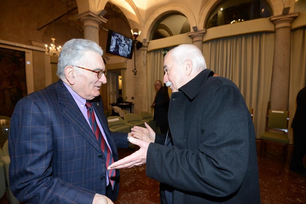 Gianfranco Pasquino e Ugo Sposetti