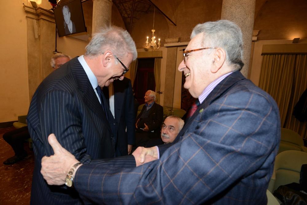Luigi Zanda e Gianfranco Pasquino