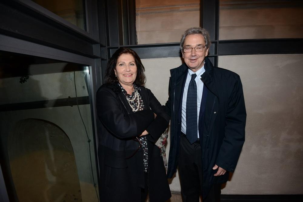 Franco Bernabè e sua moglie Grazia