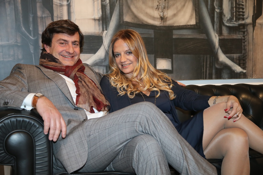 Fabiola Cinque e Andrea Rastelli